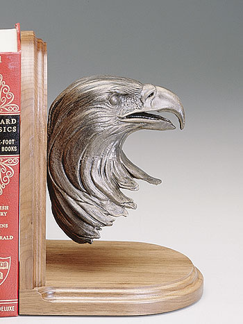 """Bald Eagle bust"